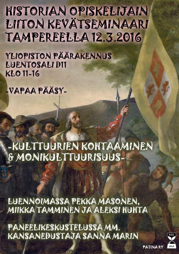 Tampereen semma, kevät 2016 juliste